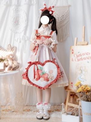 Afternoon Tea Fairy Tale Dream Sweet Lolita Dress Matching Bag