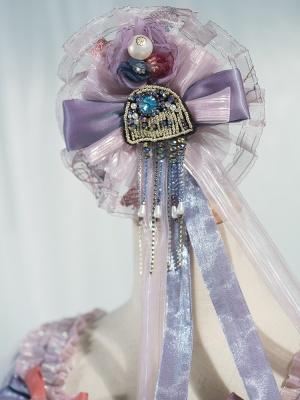 Bionic Sea and Moon Elegant Lolita Dress Matching Hanamaru by Fantastic Wind