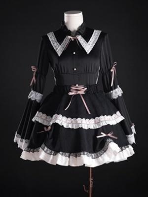 Abyss Rose Elastic Waist Gothic Lolita SK