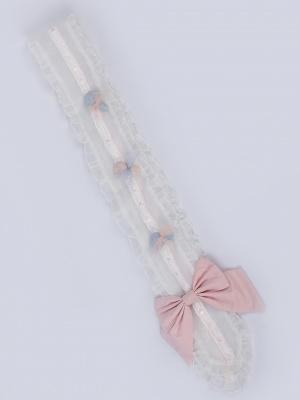 Sweet Candy Lolita Dress Matching Ribbon / Wristcuffs by Green Castle Lolita