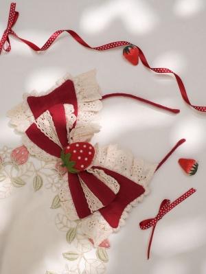 God Strawberry Wa Lolita Dress Matching KC