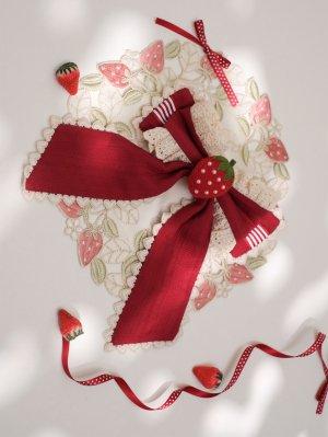 God Strawberry Wa Lolita Dress Matching Hairclip
