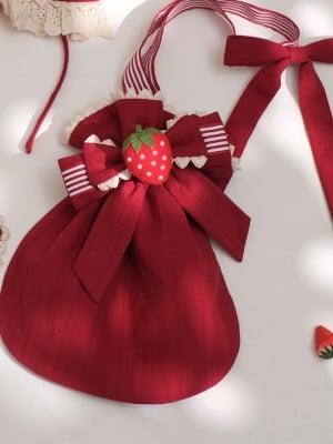 God Strawberry Wa Lolita Dress Matching Bag