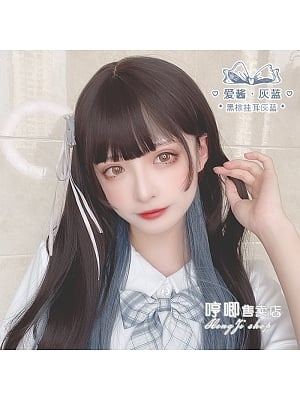 Love Sauce Long Staight Synthetic Lolita Wig by Hengji