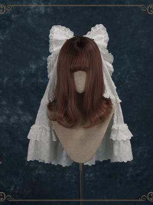 Unheard of First Sight Hanayome Classic Lolita Dress Matching Veil