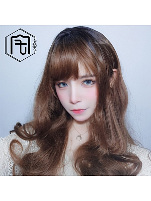 Sweet Lovely Big Wave Long Length Lolita Synthetic Wig