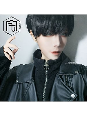 Handsome Ouji Straight Short Length Lolita Synthetic Wig
