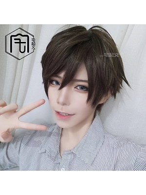 Ouji Short Length Handsome Lolita Synthetic Wig