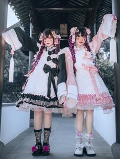 Puff Roasted Milk Zombie Wa Lolita Dress Matching Blouse