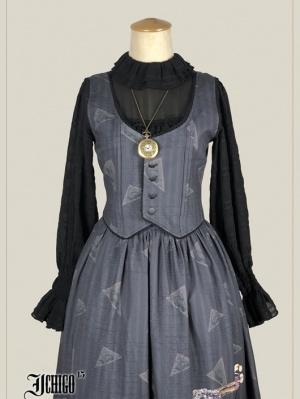 Custom Size Available Memoirs of Summer Vintage Vest by Ichigo