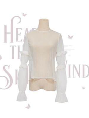 Hear the Wind Sing Elegant Lolita Dress Matching Blouse