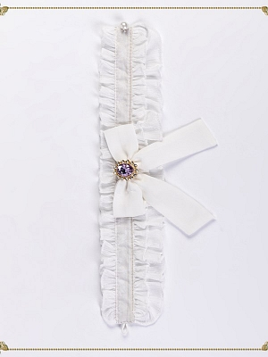 Peace Laurel Elegant Lolita Dress Matching Choker by JIA HUI