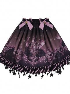 Candy Carnival Star Trimmed Hemline Elegant Gothic Lolita SK