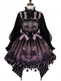 Candy Carnival Detachable  Elegant Gothic Lolita SK Full Set