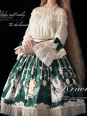 Siren Vintage Lolita Matching Choker by Krncrlo
