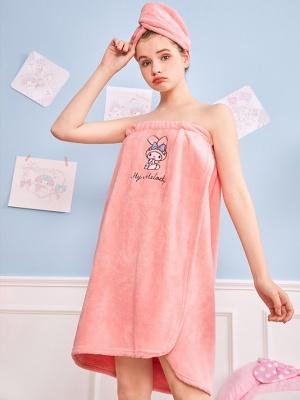 Sanrio Authorized Cinnamoroll / My Melody / Pompompurin Shower  Cap / Bath Towel Sets by LEDiN