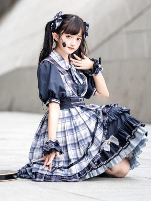 Just Singing Idol Lolita Dress Matching KC / Hairclip / Girdle / Hairrope by Lefluor