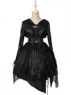 Endless Fantasy Punk Lolita Dress JSK by Lemon Honey
