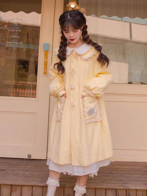 Vintage Peter Pan Collar Long Sleeves Lolita Coat