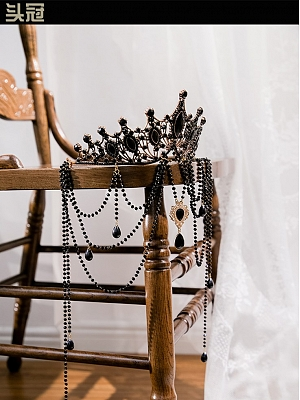 Rosa Castle Gothic Lolita Dress Matching Crown