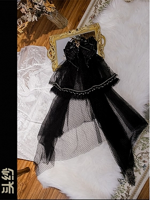 Rosa Castle Gothic Lolita Dress Matching Veil
