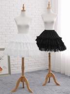 Lolita Elastic Waist Fish-bone Adjustable Petticoat by Manilo