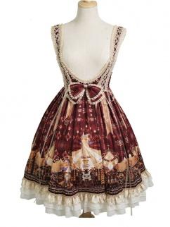 Best Guardian Carnival Underbust Classic Lolita Dress JSK