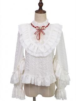 Best Guardian Carnival  High Neck Long Sleeves Classic Lolita Dress Matching Blouse