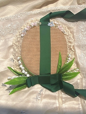 Roman Holiday Lily of the Valley Lolita Hat by MeowMeow Killer