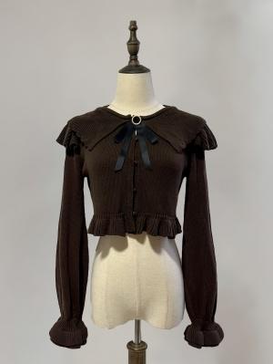 Good Things 4 Colors Turndown Collar Long Sleeves Lolita Cardigan