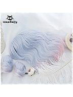 Instant Noodles Short Curly Lolita Synthetic Wig by Manreally