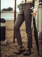 Vintage Herringbone Pattern Men's Suit Pants  by Mr Yi's Steamland