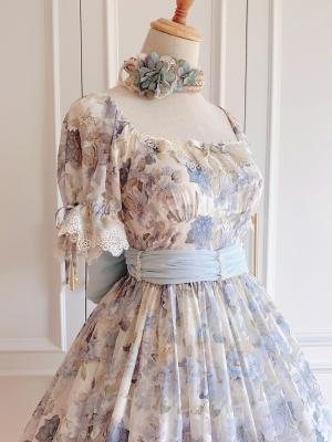 Blowing Summer Wind Lolita Dress Matching KC by MyuCat