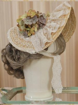 Blowing Summer Wind Lolita Dress Matching Bonnet by MyuCat