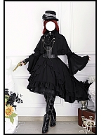 Van Helsing Gothic Lolita Matching Girdle by Souffle Song