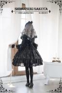 Star Signs Gold Stamping Elegant Gothic Lolita Dress Hot Sale Starry Night Lolita JSK by SHIMOTSUKI SAKUYA