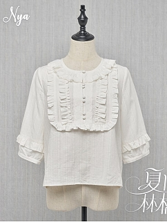 Summer Ringo Elegant Lolita Dress Matching Blouse by NyaNya