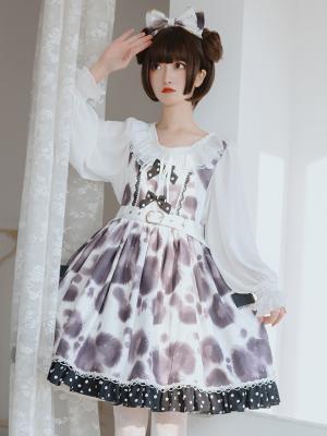 Cream Cake Little Cow Sweet Lolita Dress JSK by OCELOT