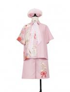 Romantic Theme Prince Ouji Lolita Pink Short Sleeves Shirt / Shorts Set by Princess Chronicles