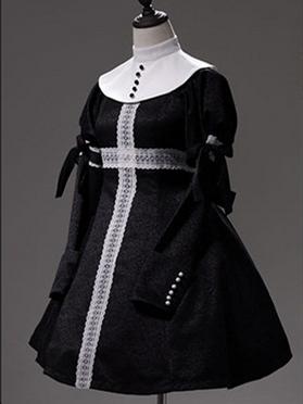 Faust Series Elegant Gothic Lolita Dress Matching Collar