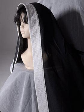 Faust Series Elegant Gothic Lolita Dress Matching Scarf