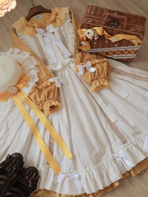 Tasha's Garden Classic Lolita Dress Matching Rattan Box