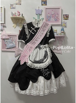 Berry Cafe Qi Lolita Dress Matching Ribbon