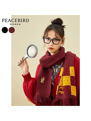 2020 Harry Potter Authorized Autumn and Winter College Style Scarf by Peacebird