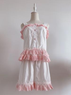 Miss Summer Lolita Pajamas Cami Top / Shorts by Ragdoll
