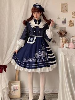 Internship Directory Lolita Dress Matching Beret / Short Jacket by Rock Candy Box
