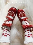 Strawberry Maria Lolita Dress Matching Socks by Red Maria