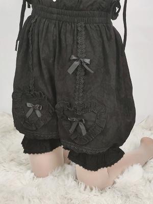 Heart Cotton Lolita Bloomers by Sakurada Fawn