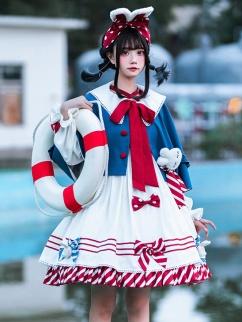 White Rabbit Candy Doll Lolita Dress OP by Sakurahime Lolita