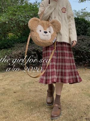 Vintage Plaid Skirt by Sankousan
